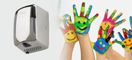 Child Friendly Hand Dryers | Handy Dryers