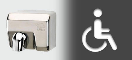Hand Dryers for Disabled Washrooms | Handy Dryers