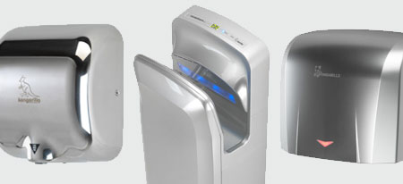 Silver Hand Dryers | Handy Dryers