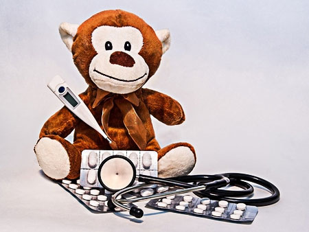 monkey toy doctor