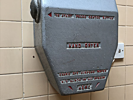 World's oldest hand dryer