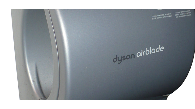 picture of a dirty dyson airblade