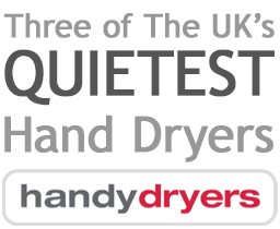 Three of The UK's quietest hand dryers