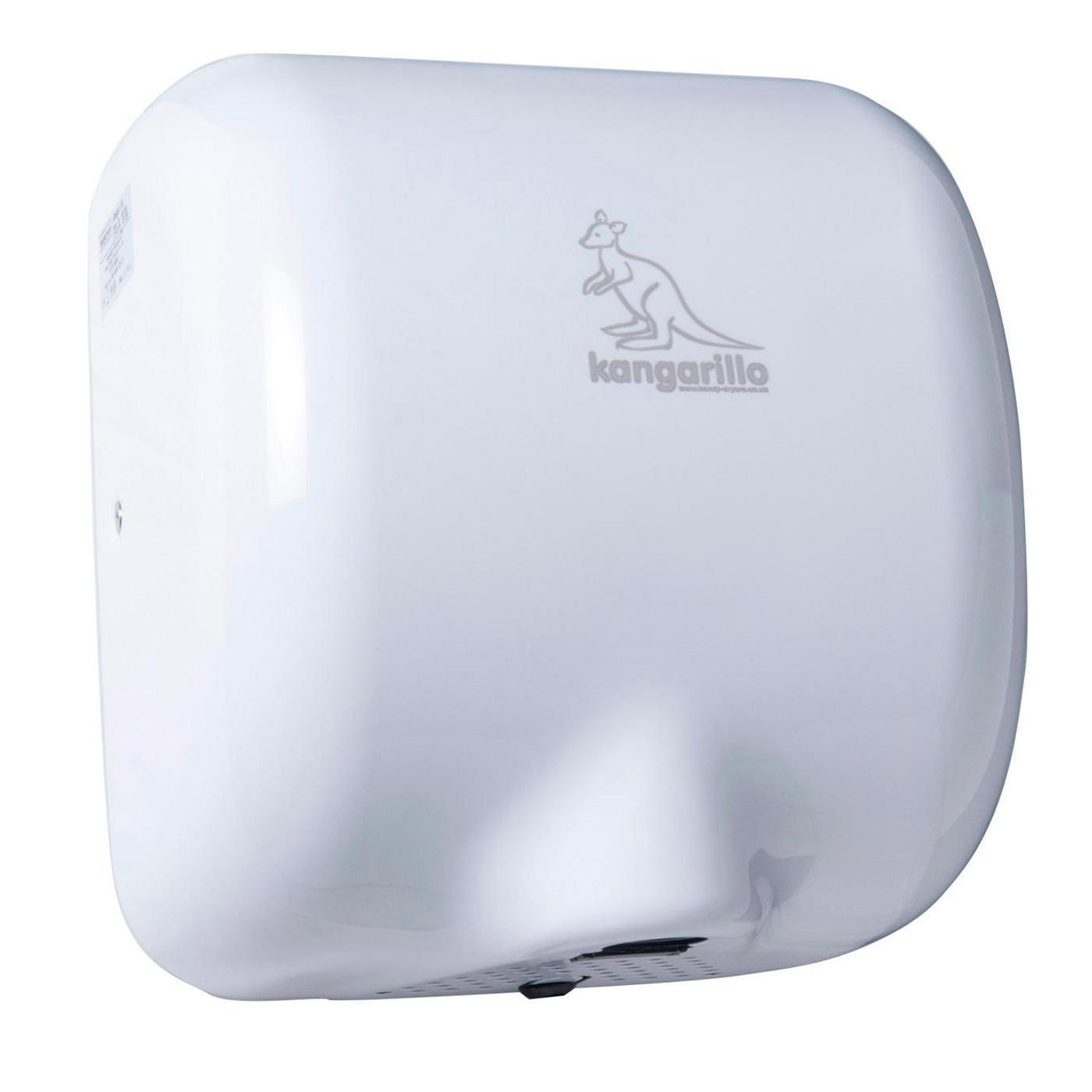 Kangarillo Hand Dryer Stainless Steel White Black