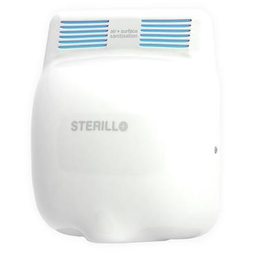 Sterillo Germ and Virus Killing Hand Dryer - Stainless Steel